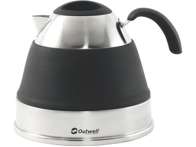 Outwell Collaps Czajnik 2,5l, czarny